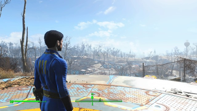 倹約しんちゃんがハマるPS4版「Fallout4」