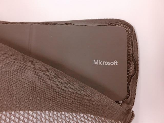 Microsoft社のBluetooth対応キーボード用のケースを発見!